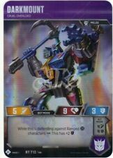 TRANSFORMERS TCG - DARKMOUNT - RT T12/T40 - RARE HOLO WAVE 1 BASE - BRAND NEW
