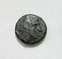 KINGS OF MACEDON. AE 18,  PHILIP V, 220-179 BC. EAGLE REVERSE.