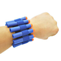 Soft Bullet Darts Ammo Storage Wrist Belt Band Strap for Nerf N-strike Toy Gun