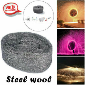 Steel Wool Firework Celebration Flame Fire-Trick Simulation New Year Party