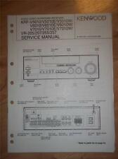 Kenwood Service Manual~KRF-V5010/E/W/V6010/V7010/VR-205/207/255/257 Receiver