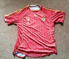 Mens Vintage Adidas Spain Home Football Shirt Raul 7 - Size Large 42/44 - Red