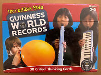 Guinness World Records Incredible Kids Critical Thinking Cards (Grades 3-5)