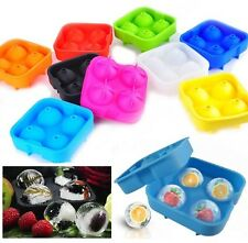1x Whiskey Ice Cube Round Ball Maker Mold Tray Sphere Mould Cocktails Party Bar