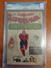 Amazing Spiderman #19 cgc 8.0