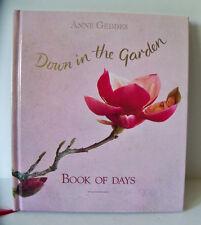 Anne Geddes /  Down in the Garden : Book of Days (1996, Hardcover)