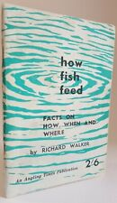How Fish Feed Richard Walker coarse fishing Angling Times booklet carp  1959 1st