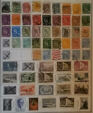 FINLAND Stamp Lot Used Album Page T1099