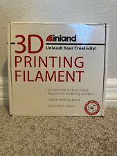 Inland 3D Printing Filament 1 KG N.W. 1.75mm PLA  White