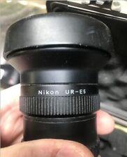 Nikon Wc-E68 fisheye converter and Nikon Ur-E5 threaded adapter