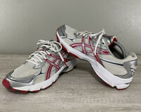 ASICS Women's Gel-Galaxy 5 Running Shoes Size 11 Red/White/Gray T281N