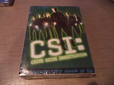 CSI: Crime Scene Investigation - The Complete First Season (DVD, 2003 6-Disc Set