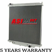 6.0L Race Aluminum Radiator For 03-07 Powerstroke Ford Diesel F250 F350 F450