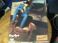 9 1/2 by 11 promo pic of Tracy Byrd signed by