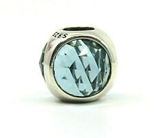 Brand New Authentic Pandora Radiant Droplet Charm with Icy Green Crystals
