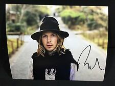 BECK HANSON SIGNED AUTOGRAPHED 8X10 PHOTO A SINGER MORNING PHASE Odelay COA