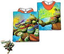 Teenage Mutant Ninja Turtle Children Baby Toddler Hooded Poncho Beach Towel
