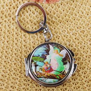 Baptism Favors Angel Keychain Mirror Communion Girl Boy Recuerdos de Bautizo