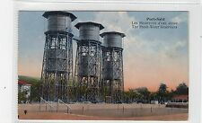 THE FRESH-WATER RESERVOIRS, PORT-SAID: Egypt postcard (C26851)
