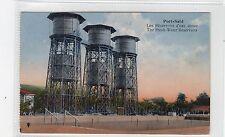 THE FRESH-WATER RESERVOIRS, PORT-SAID: Egypt postcard (C26851)