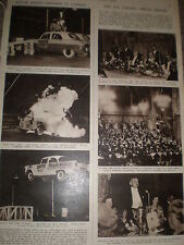 Photo article the Hollywood Motor rodeo at Harringay 1955 ref Z