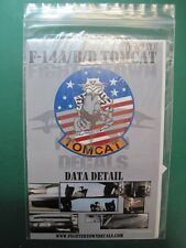 DECALS 1/48 FIGHTERTOWN F-14 A/B/D TOMCAT DATA DETAIL