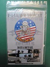 DECALS 1/48 FIGHTERTOWN F-14 A/B/D TOMCAT DATA DETAIL