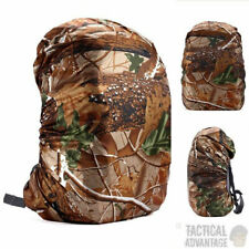 Waterproof Realtree Camouflage Rucksack Backpack Rain Cover  Real Tree Up to 45L