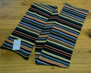 Paul Smith Signature Stripe Extra Long Wool & Cashmere-Blend Scarf NEW - RRP £95