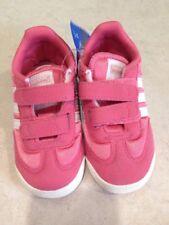 Adidas Dragon CF NEW Kids Toddler Girls Pink Fasten Sneakers Shoes Size 5.5 K