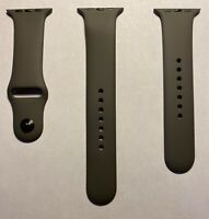 Apple Watch Gray Sport Band Space Gray Pin Series 0 1 2 3 42mm 4 5 44mm Genuine