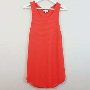 [ WITCHERY ] Womens Sleeveless orange Top | Size S or AU 10