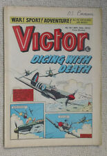 VICTOR No 761 20th September 1975 WW2 RAF D-Day Cover Story Seafire
