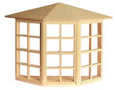 "Dollhouse Houseworks 24 light Bay Window  1/12"" Scale HW5008"