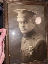 Portrait Of WW1 Soldier