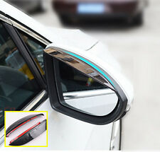 FOR TOYOTA VIOS YARIS SEDAN 2014 2015 SIDE DOOR MIRROR RAIN GUARD VISOR SHIELD