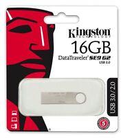 Kingston DataTraveler SE9 G2 USB 3.0 16GB Flash Pen Drive Memory Thumb Stick*