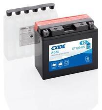 Batterie moto Exide YT12B-BS ET12B-BS 12V 10AH 180A 150X70X130MM