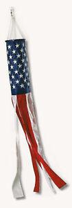 Embroidered American Flag 3-D Wind Socks *100% MADE IN U.S.A* Allied Flag™ Sock