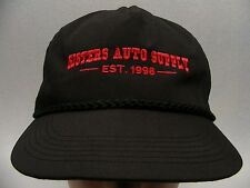 SISTERS AUTO SUPPLY - EST. 1998 - ADJUSTABLE BALL CAP HAT!