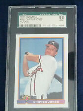 Chipper Jones  1991 Rookie Bowman  #569  SGC 98 Gem - Braves