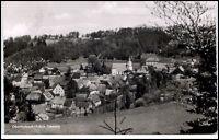 OBERTRUBACH Bayern Fränische Schweiz 1958 AK Teilansicht Panorama Blick a.d. Ort