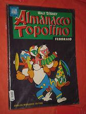 ALBO D'ORO ALMANACCO DI TOPOLINO n° 2 -1964 -completo con 2 fogli figurine-usato