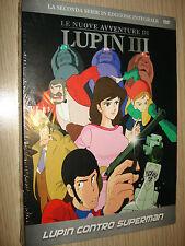 DVD N° 19 LE NUOVE AVVENTURE DI LUPIN III LUPIN CONTRO SUPERMAN