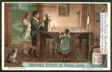Physics Science  Optical Illusion Children Demonstration Experimentc1920 Ad Card