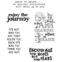 Tim Holtz Rubber Stamp Set - Just Thoughts CMS 078