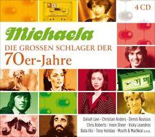 MICHAELA-DIE GROßEN SCHLAGER DER 70ER-JAHRE  4 CD NEUF