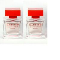 2 Narciso Rouge Eau De Parfum by Narciso Rodriguez 7.5ml/0.25oz x2 Travel Size