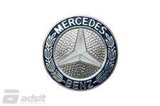 New Mercedes 1977-1991 123/126 Chassis Hood Badge *1268800188