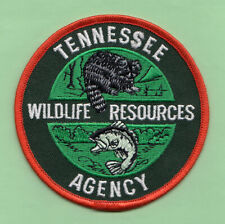 A1 * TN STATE CONSERVATION WILDLIFE RESOURCES LAW ENFORCEMENT WARDEN PATCH